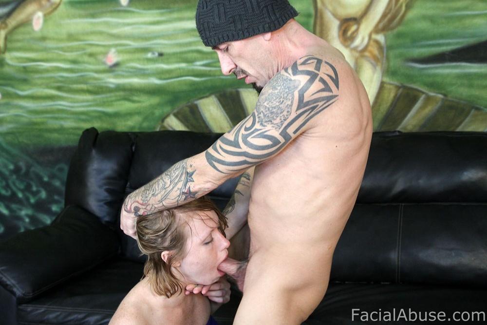 Beth facialabuse throat fucking